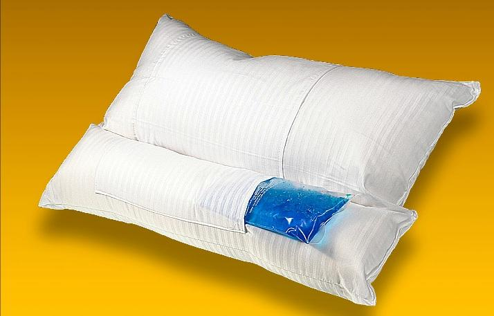 Almohada cervical con gel fr o calor kine estetic - Almohada cervical ...
