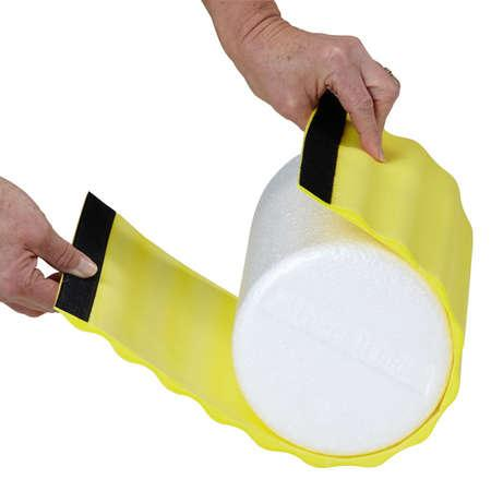 Rolo foam roller 30 cm r gido thera band kine estetic for Gimnasio kine