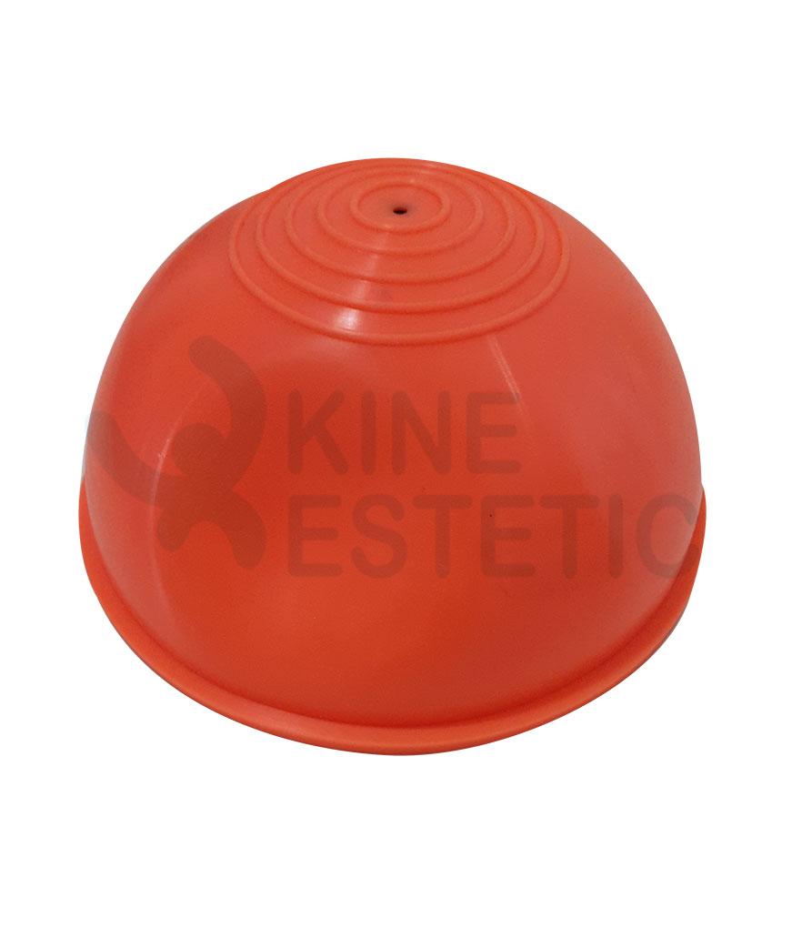 Semiesfera inflable mini bozu 27cm kine estetic for Gimnasio kine